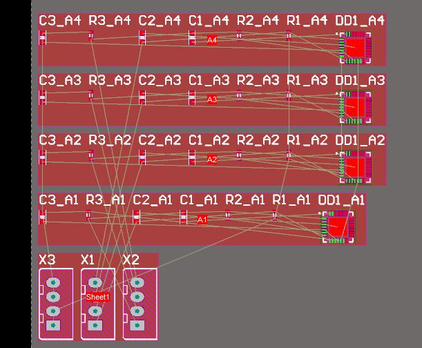 Изменения импортированы, каждый канал в отдельной комнате.